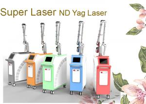 China 2000W 1064 nm / 532nm Q Switched Nd Yag Laser Tattoo Removal Machine For Salon on sale