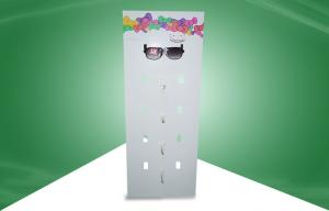China 4 Color CMKY Offset Printing POP Cardboard Display Standee for Sunglasses Hanging on sale