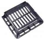 Medium Duty 25 Tonne Load Rating Hinged Ductile Iron Dished Gully Grating 300MM X 300MM Opening