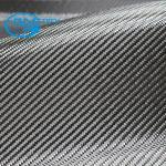 tissu de fibre du carbone 1k