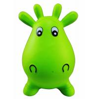 Kids Animal Space Hopper Inflatable Cow Ride On Bouncy Play Toys Xmas Gift