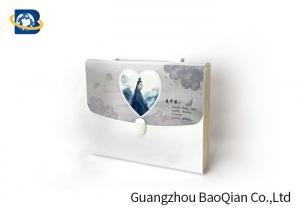 China PET / PP / PVC 3D Plastic Expandable File Folders , 3D Lenticular Photo Printing on sale