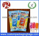 Heat Seal Composite Plastic Food Packaging Bags For Ice Lolly / Sweets