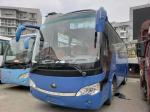 ZK6938H9 Blue Used Yutong Buses 39 Seats Used Journey Bus 2010 YEAR Great Performance