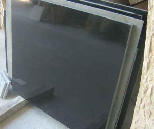 China Dalles/tuiles de granit de noir de Shanxi 60*60*2cm/180*60*3cm/160*60*3cm on sale