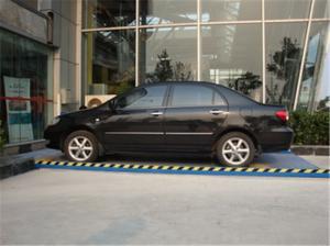 China 400mm hydraulic stationary scissor lift car lift bridge 220v on sale