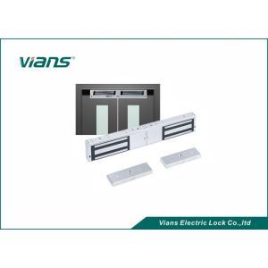 China Vians 1200LBS Double Door Magnetic locks  with door status monitor on sale
