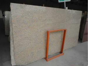 China Nuevas tejas naturales para solar, tejas del granito de Giallo Veneziano de la pared del granito on sale