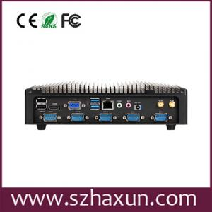 China Wide voltage 8-28v wall mounted embedded pc with haswell i7 4510 on sale