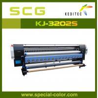 China 3.2m plotter ,solvent printer for outdoor advertising KJ3200S on sale