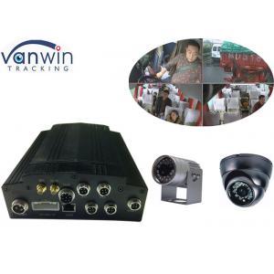 China carte de sim de l'unité de disque dur 3G du disque transistorisé 4CH DVR mobile 1080P avec le système d'alarme on sale