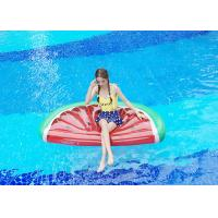 0.25mm PVC 180*90cm Red Color Melon Water Inflatable Water Floats Half-Watermelon Float