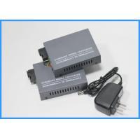 10 /100Mbps Fiber Media Converter Single Mode With 1310nm Dual Fiber Ports