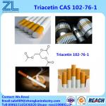 Food grade Triacetin plasticizer liquid cas 102-76-1 in China with 99.5%min purity