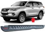 Toyota Fortuner 2016 2018 Steel Side Step Bars TRD Style Replacement Parts