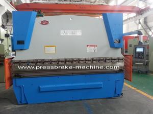 China LVD Hydraulic Press Brake / Sheet Metal Bender Brake Synchronized on sale