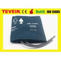 Adult double tube nylon material reusable blood pressure cuff,medical accessory NIBP cuff used for Patient monitor