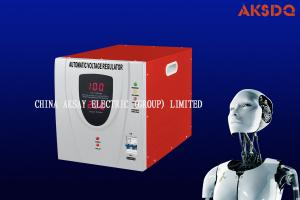 China Automatic Voltage stabilizer Relay type,AC voltage regulator SVR single phase 500W-10000W electrical stabilizer on sale