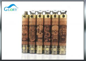 China 900mah Vaporizer wax dry herb pen Vapor Electronic Cigarette wooden e fire on sale