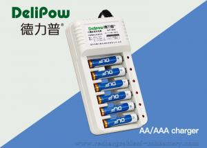 China Environmental Nimh 9v Rechargeable Battery And Charger 6 Slots on sale