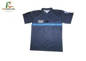China Custom Polo Shirts With Logo Embroidered , Outdoor Sports Cycling Team Polo Shirts on sale