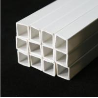 China SQUARE TUBE ABS Plastic pipe 50cm length DIA 3.0-10MM 3.0,4.0,5.0,6.0,8.0,10MM on sale