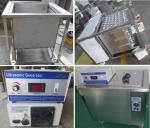 Wheel Hub Industrial Ultrasonic Parts Cleaner , Vehicle Tools Washing Machine 360L