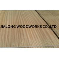 China Sliced Sapele Natural Wood Veneer Sheet Quarter Cut For Doors And Plywood With AA Grade on sale
