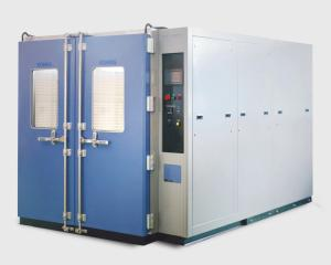 China Water cooled 43L Double Door Walk-In Chamber need on-site installation on sale