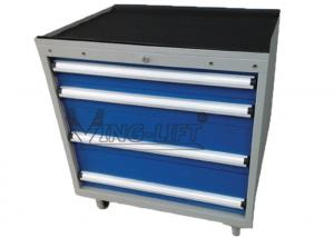 China 4 / 5 Drawer Roller Tool Cabinet With Two Swivel Casters / Aluminum Alloy Handle on sale