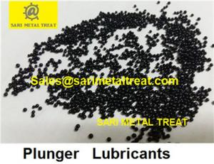 China Black graphite shot beads, die casting plunger lubricant pellets on sale