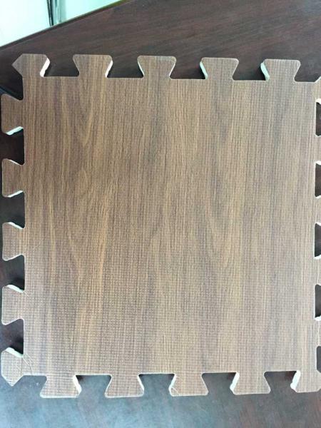 Wood Effect Interlocking Floor Tiles Europe Popular For Sale Soft