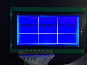 China FSTN Postive STN Bule Graphic Lcd Display Module 240*128 Dots With T6963C on sale