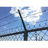 Hot dipped galvanized chain link fence System