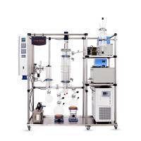 China Automatic Molecular Distillation Apparatus For High Purity Hemp Essential Oil on sale