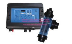China Round Cell Electrolysis Salt Water Chlorinators Generator For Pool Sterilization on sale