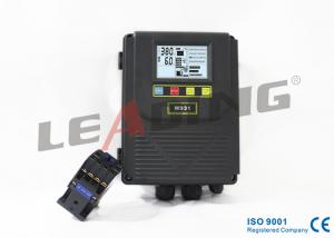 China Black Submersible Pump Wiring Control Box Programmable Control , Sensitive Protection on sale