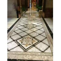 China Marble Stone Polished of the Waterjet Patterns Flooring Tiles on sale