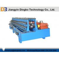 Low Noise Door Frame Roll Forming Machine , Metal Rolling Equipment With ISO Certification