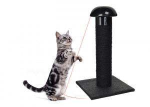 China 2 In 1 Interactive Cat Toys Laser Light , Funny Automatic Laser Light Cat Toy on sale
