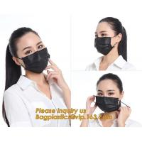 Health & Medical PP 3 Layers Competitive Price Clear Face MaskSurgical Masks Black Factory Direct Supply FDA Approval Me
