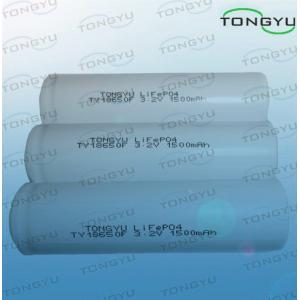 China Batterie d'ion de lithium LiFePO4 cylindrique 3.2V 1500Ah 18650 pour les machines-outils sans fil on sale