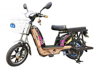 China 16'' Electric Powered Bikes Drum Brake Power Assisted Bicycle With Tubeless Vacuum Tires on sale