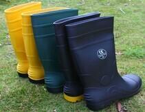 China Gumboots,PVC material,steel toecap,steel plate,Size UK 4-13,CE EN345 S5,EN345 S4 on sale