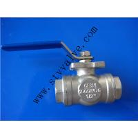 stainless steel 4 inch 3way gas ball valve