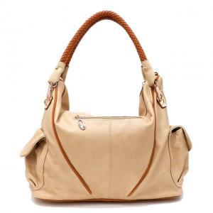 China popular lady fashion handbag, leather handbag on sale