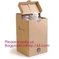 Wine Juice Water Oil Bag In Box With Tap Valve,3 L and 5 L Wine bag in box holder,red wine bag in box,Water bag with spo