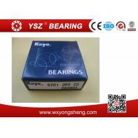 Deep Groove Ball Koyo Bearing 6201 2RS C3 Sealed Chrome Steel Gcr15