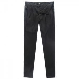 China Black Twill Tencel Ladies Casual Pants womens casual trousers on sale