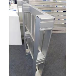 China Silver Anodized 6063 T5 Welding Aluminum Parts / Aluminum Pallet on sale